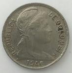 monedas de America - Colombia -  1946 - 2 centavos
