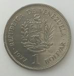 monedas de America - Colombia -  1977 - 1 Bolívar