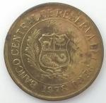 monedas de America - Perú -  1978 - 5 Soles de oro