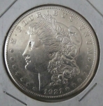 monedas de America - Estados Unidos -  1921 Morgan un dollar plata