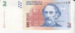 monedas de America - Argentina -  BARTOLOMÉ MITRE