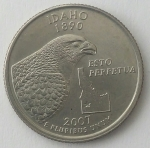 monedas de America - Estados Unidos -  2007 quarter dollar