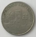 monedas de America - Panamá -  2003 veinticinco centesimos