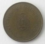 monedas de America - Argentina -  2008 - 10 centavos