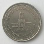 monedas de : America : Argentina : 1994 - 25 centavos