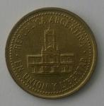 monedas de : America : Argentina : 2009 - 25 centavos