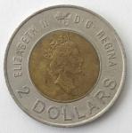 monedas de : America : Canadá : 2000 - 2 dollar