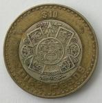 monedas de : America : México : 1998 - 10 pesos