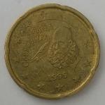 monedas de : Europa : España : 1999 - 20 cent euro