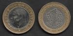 monedas de Asia - Turquía -  1 Lira Turca