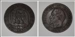 monedas de Europa - Francia -  Empire Français Cinq Centimes