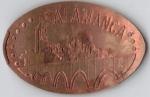 monedas de Europa - España -  Salamanca Puente y silueta ciudad
