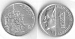 monedas de Europa - España -  Ultimo año acuñación peseta
