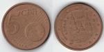 monedas de : Europa : España : 5 cts Euro