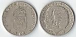 monedas de : Europa : Suecia : 1 Corona sueca