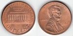 monedas de : America : Estados_Unidos : ONE CENT