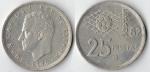 monedas de : Europa : España : ESPAÑA 82 25 ptas