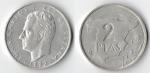 monedas de : Europa : España : 2 ptas mapa españa