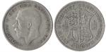 monedas de Europa - Reino Unido -  Media Corona
