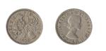 monedas de Europa - Reino Unido -  SIX PENCE