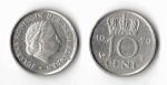 monedas de Europa - Holanda -  10 cents