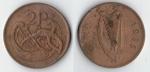 monedas de Europa - Irlanda -  2 pence