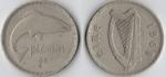 monedas de Europa - Irlanda -  2 shillings (1 florin)