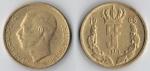 monedas de Europa - Luxemburgo -  5 francs