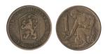 monedas de Europa - Checoslovaquia -  1 koruna