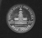 monedas de : America : Estados_Unidos : UNITED  STATES  OF  AMÉRICA.  CASA  DE  LA  INDEPENDENCIA.  HALF  DOLLAR.  (Reverso)