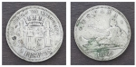 monedas de : Europa : España : Edad Contemporanea Gobierno Provisional 1869