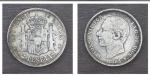 monedas de : Europa : España : EDAD CONTEMPORANEA: ALFONSO XII 1882